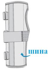 Изображение - Бандаж для лучезапястного сустава е 204 F-204-shema